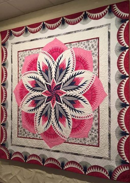 vintage rose vintage rose vintage roses quilting designs Stylish Vintage Rose Quilt Pattern Inspirations