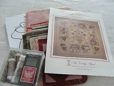 vintage valentine block of the month applique quilt kit Cool Vintage Valentine Quilt Kit Gallery