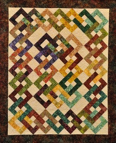 waste knot quilt pattern found on webstorequiltropolis Stylish Waste Knot Quilt Instructions