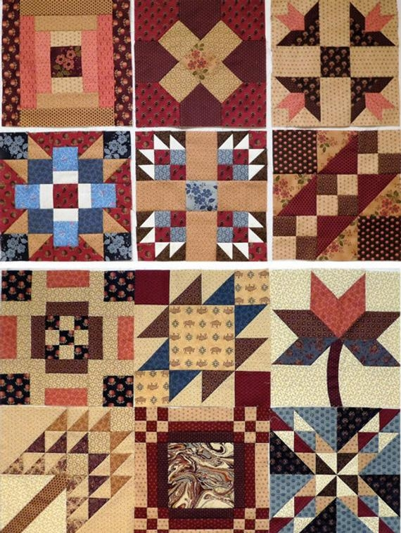 westering women historic quilt pattern pdf block of the month sampler 12 traditional blocks named for sites on the western trails americana Elegant Traditional Quilt Patterns History