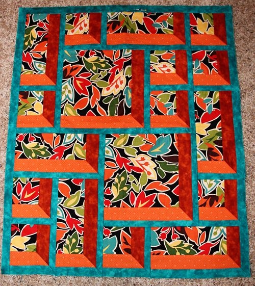 window pane quilt block love the three dimensional look Cool Window Pane Quilt Pattern Inspirations