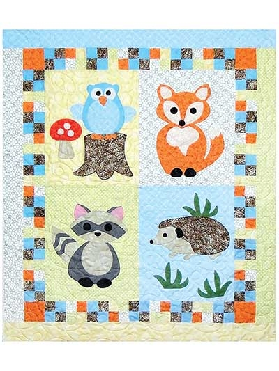 woodland babies quilt pattern Interesting Quilt Patterns For Babies Inspirations