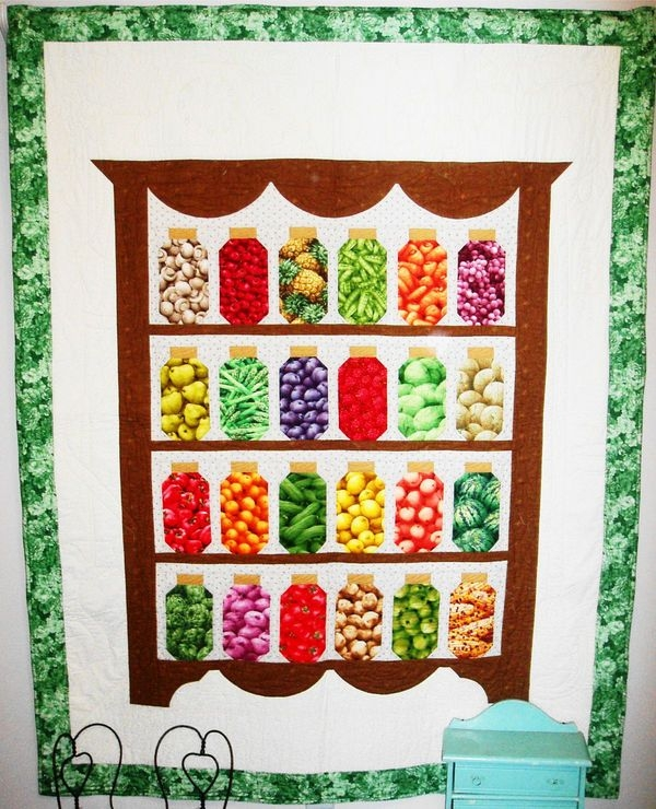 wwwquiltingboard grannys pantry canning jar pattern Canning Jar Quilt Pattern Inspirations