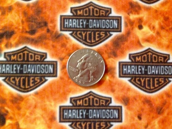 xl cotton blend fabric fq harley davidson motor cycles Cozy New Harley Davidson Fabric For Quilting