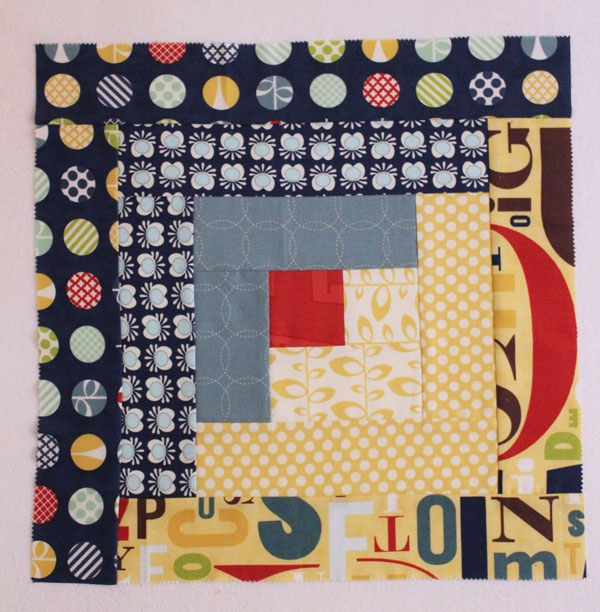 you cant miss this free quilt in a day log cabin tutorial Make A Quilt In A Day Log Cabin Pattern Inspirations