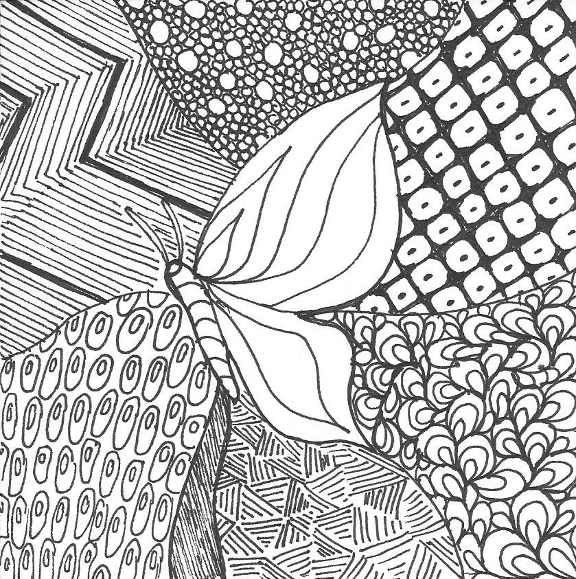 zentangle drawing and quilting mystery bay quilt design Cozy Zentangle Quilting Patterns Gallery