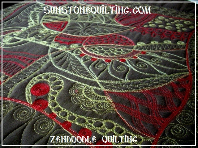zentangle quilting sunstone quilting Cozy Zentangle Quilting Patterns Gallery