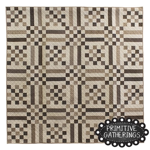 fall picnic quilt Modern Primitive Gatherings Quilt Patterns