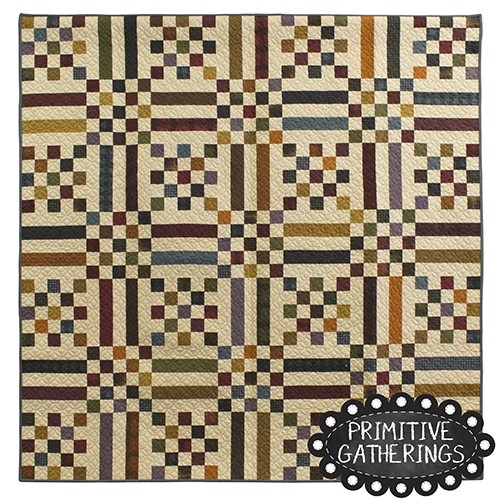 fall picnic quilt primitive gatherings Modern Primitive Gatherings Quilt Patterns