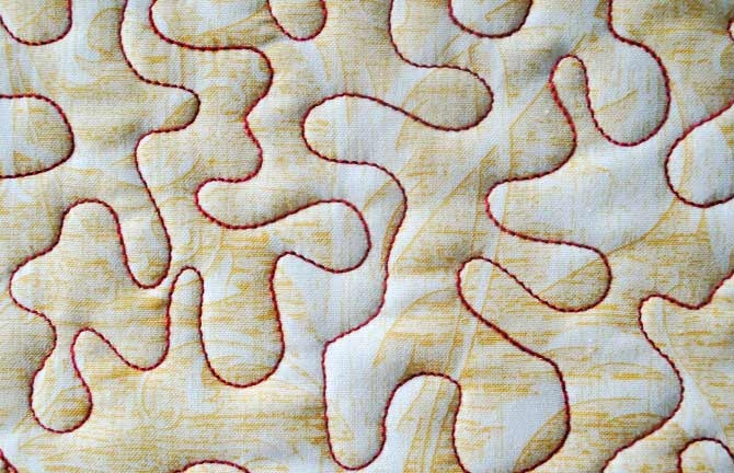 free motion quilting with fruitti from wonderfil quiltsocial Cozy Free Pdf Quilt Meander Design Download Inspirations