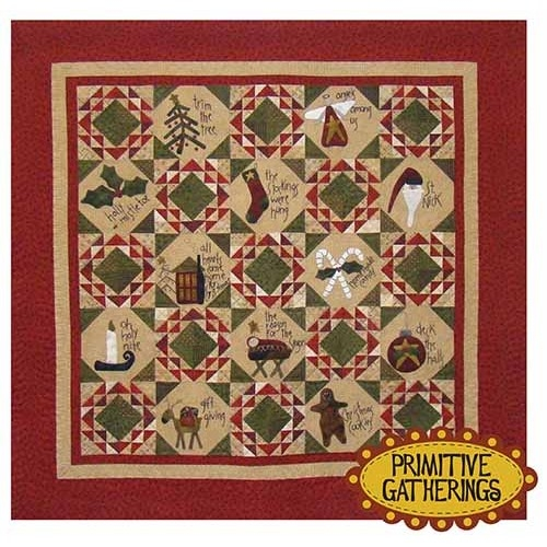home for the holidays Modern Primitive Gatherings Quilt Patterns