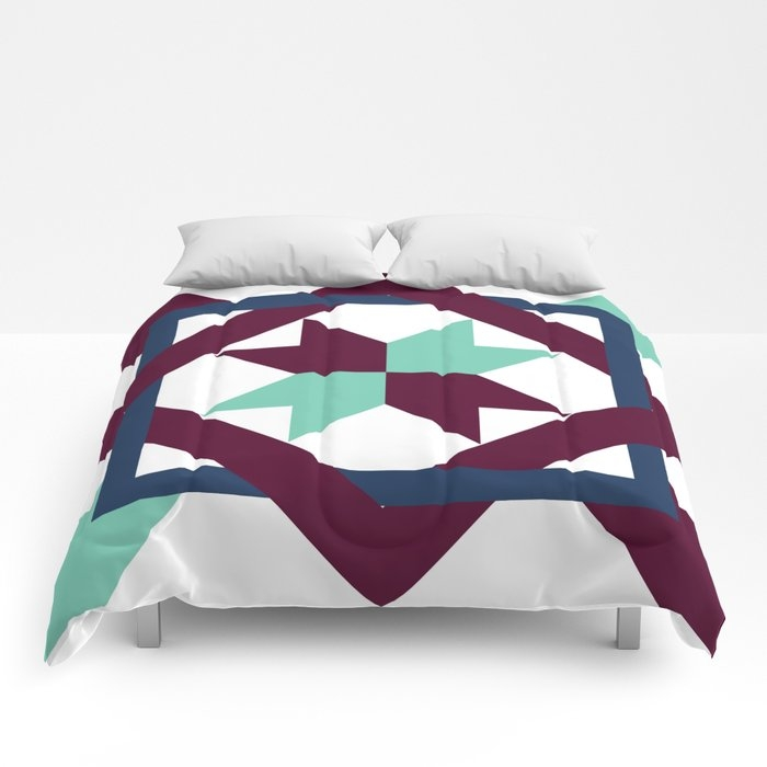 intertwined quilt pattern comforters mkartdesign Elegant Intertwined Quilt Pattern Gallery
