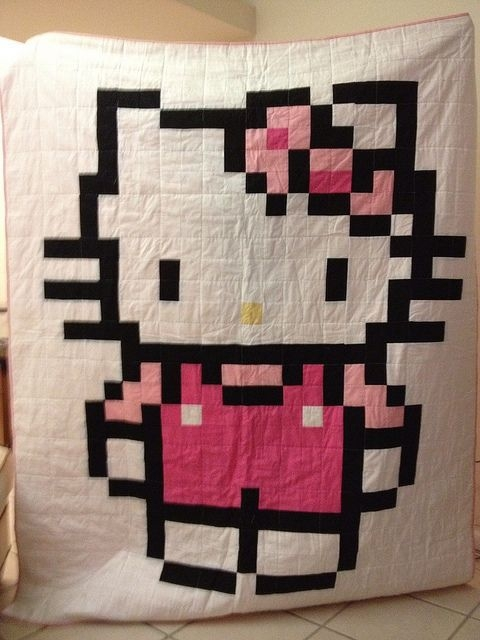 jordans hello kitty quilt girly girls hello kitty Hello Kitty Quilt Block Patterns Gallery