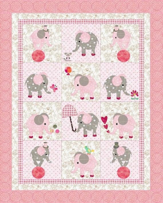 little girls quilt pattern elephants Elegant Quilt Patterns For Little Girls Inspirations
