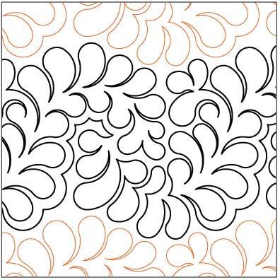 paper pantographs Cozy Pantograph Quilt Patterns