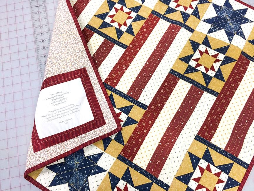 piece works quilt shop Fons And Porter Quilts Of Valor Patterns