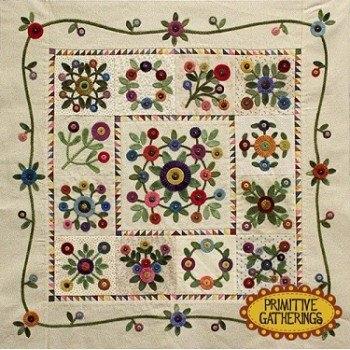 primitive gatherings kits and patterns Modern Primitive Gatherings Quilt Patterns