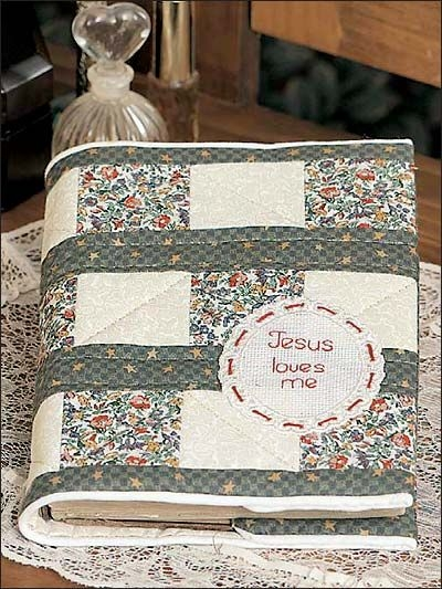 quilted bible cover make a new quilted cover for your Stylish Quilted Bible Cover Patterns Gallery