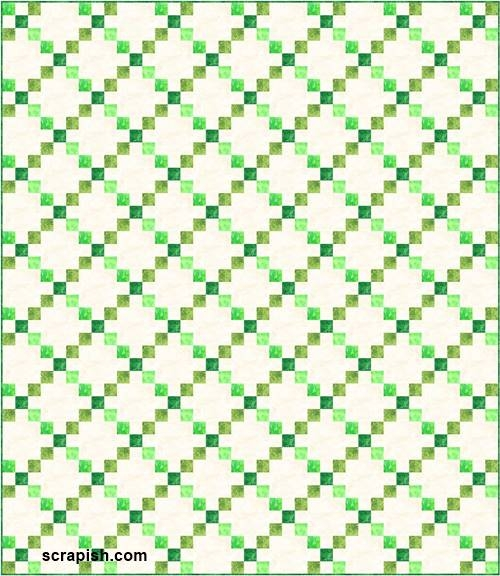 single irish chain quilt pattern Cool Single Irish Chain Quilt Pattern Gallery