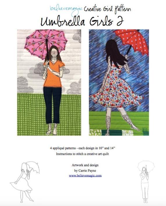 appliqu quilt pattern umbrella girls 2 pdf Elegant Umbrella Girl Quilt Pattern