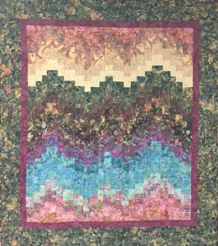 bargello quilt from eleanor burns book quick trip quilts Cool Quick Trip Quilt Pattern Gallery