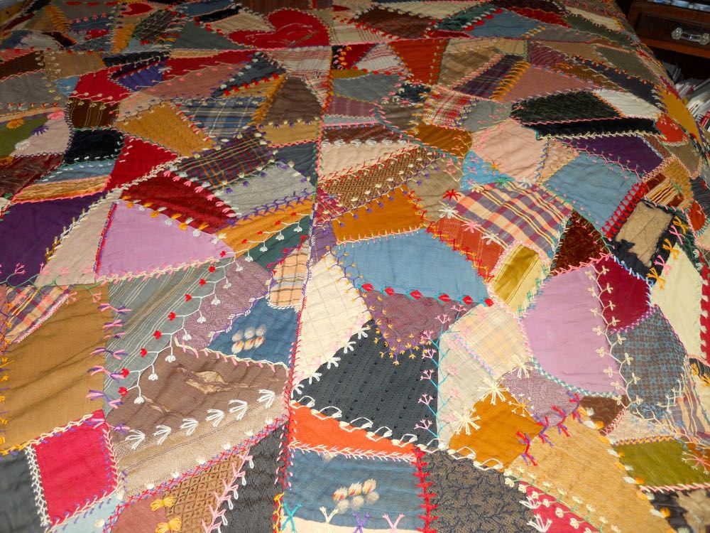 bluebird gardens quilts and gifts Elegant Vintage Crazy Quilt Supplies Inspirations