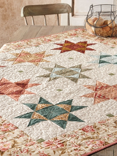carefree summer days quilt pattern Traditional Quilting Patterns