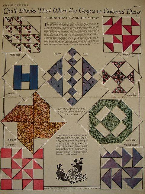 colonial quilt blocks vintage quilts patterns quilt block Stylish Vintage Quilt Blocks Inspirations
