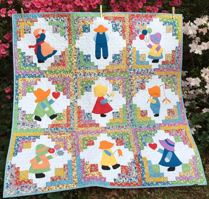 deb kratovil quilts sunbonnet sue and overall sam Unique Overall Sam Quilt Pattern
