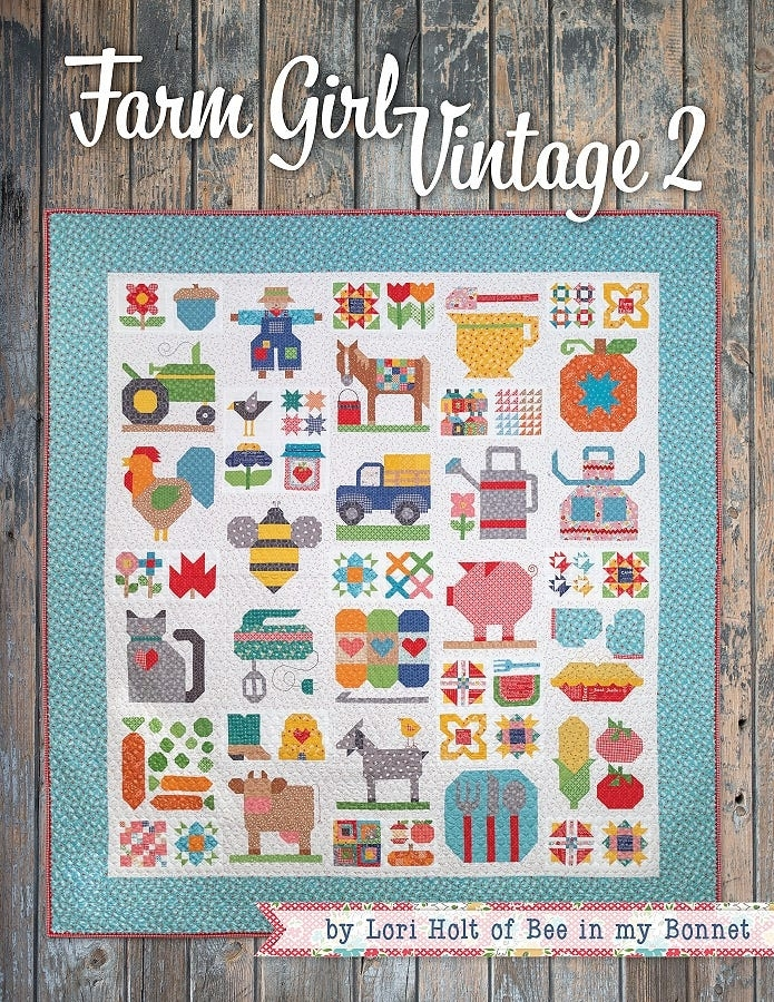 farm girl vintage 2 book lori holt of bee in my bonnet for its sew emma ise 931 Modern Farm Girl Vintage Quilt