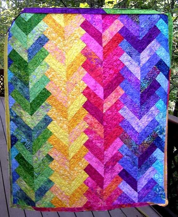 free quilt patterns for beginners thread french braid 1 Elegant French Braid Quilt Pattern Inspirations