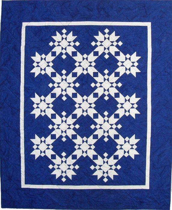 free snowflake quilt patterns magic snowflakes fiber Stylish Snowflake Quilt Patterns