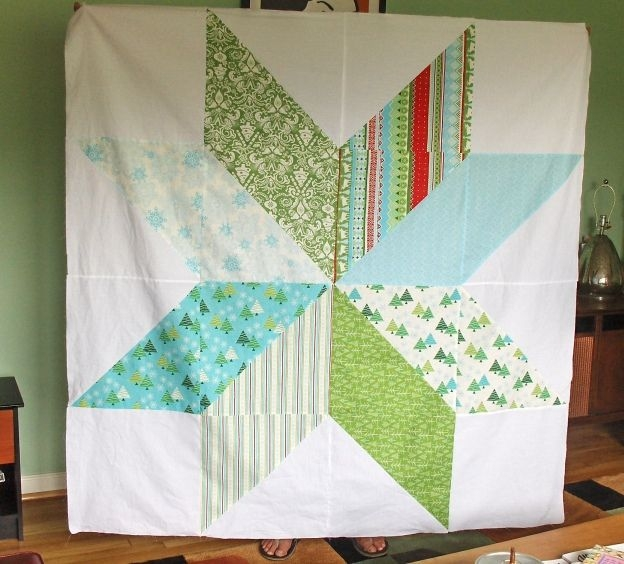 giant vintage star quilt big block quilts quilts square Stylish Giant Vintage Star Quilt Gallery