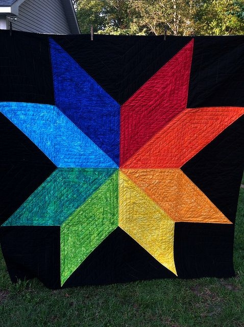 giant vintage star quilt big block quilts star quilt Stylish Giant Vintage Star Quilt Gallery