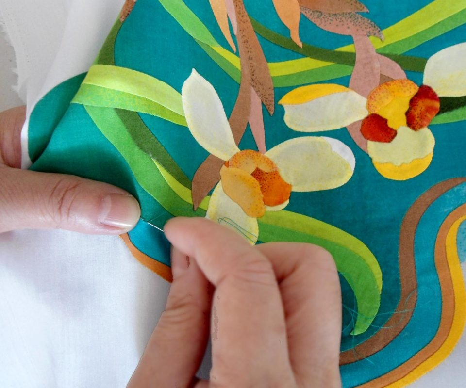 hand applique tutorial for beginners Cozy Hand Applique Quilt Patterns