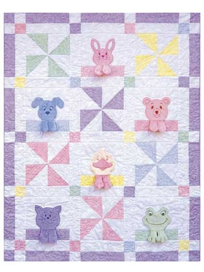hankie blankie pets ba quilt pattern Elegant Applique Quilt Patterns For Babies