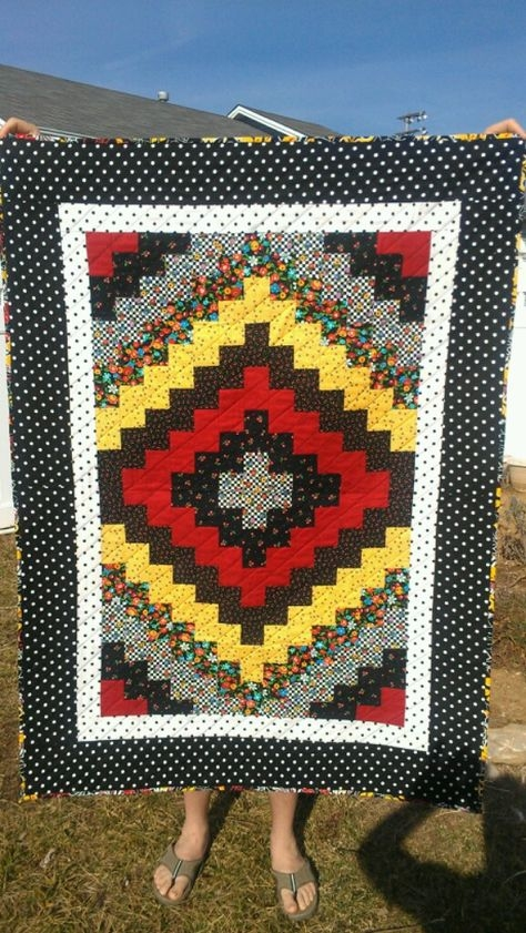 isnt this pretty i believe it would be pretty quick to Cool Quick Trip Quilt Pattern Gallery