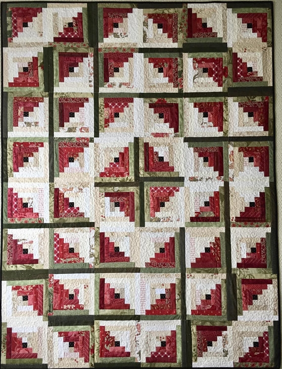 log cabin quilt patterns pdf christmas quilt pattern easy Interesting Log Cabin Quilt Patterns For Beginners
