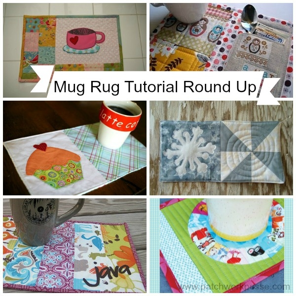 mug rug pattern Modern Quilted Mug Rugs Patterns