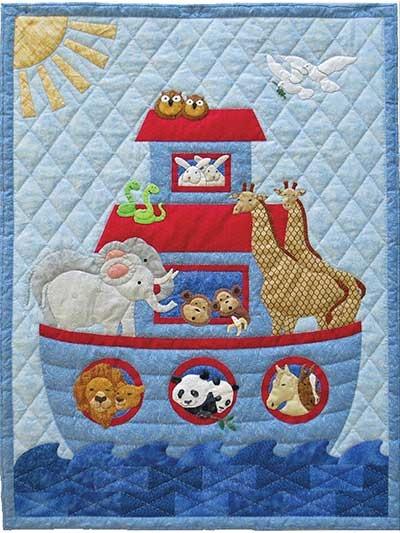noahs ark quilt pattern Elegant Applique Quilt Patterns For Babies