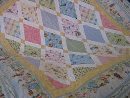 peter rabbit ba quilt pattern sewing patterns for ba Cozy Peter Rabbit Quilt Pattern Inspirations