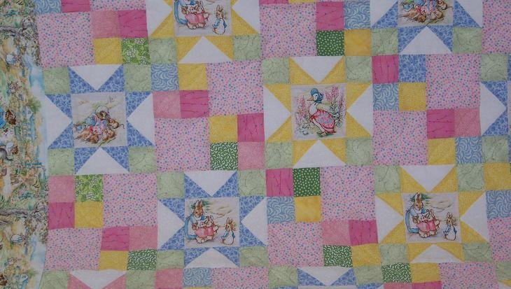peter rabbit quilt gayles gallery Cozy Peter Rabbit Quilt Pattern Inspirations