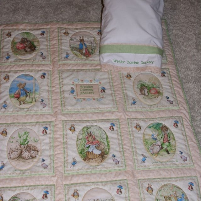 peter rabbit quilt i would love to do this ba Cozy Peter Rabbit Quilt Pattern Inspirations