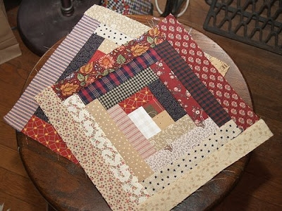 pieces from me planning a barn raising Cool Barn Raising Quilt Pattern Inspirations