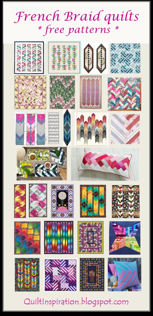 quilt inspiration free pattern day french braid quilts Elegant French Braid Quilt Pattern Inspirations