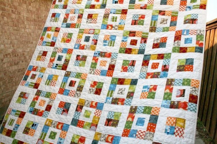royal squares quilt bluprint Cool Quilt Patterns Using Squares Gallery