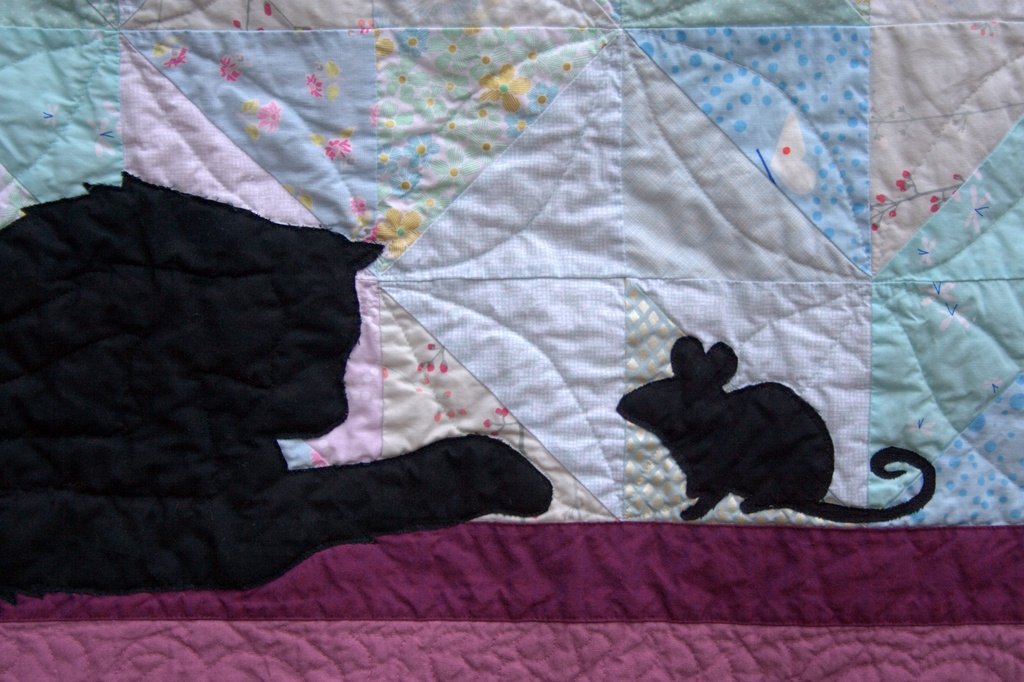 silhouette quilt night quilter Unique Silhouette Quilt Patterns