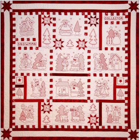 snowman collector quilt Snowman Collector Quilt Pattern Gallery