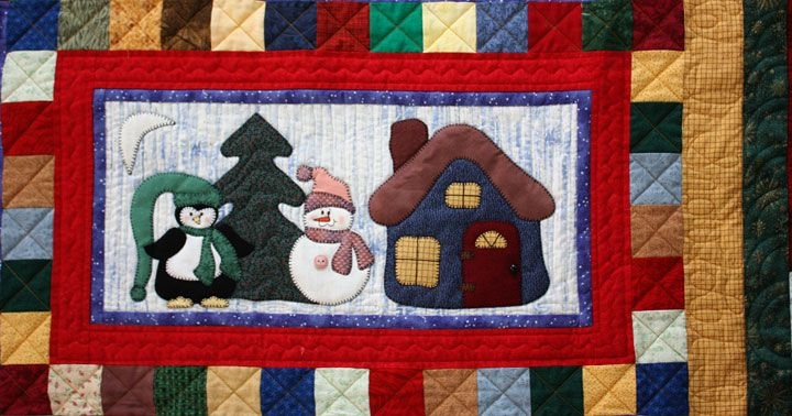 snowman collector winter quilts christmas applique Snowman Collector Quilt Pattern Gallery