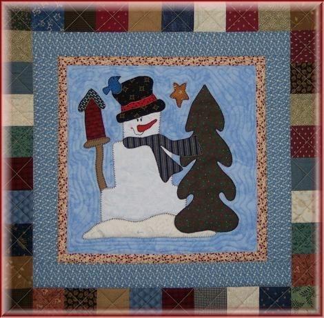 snowman quilt template snowman collector bom stonewall Snowman Collector Quilt Pattern Gallery